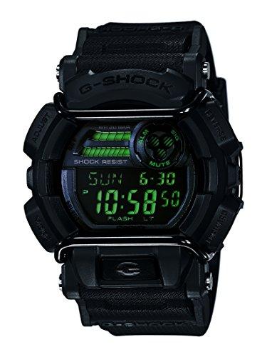 Casio Men's XL Series G-Shock Quartz 200M WR Shock Resistant Resin Color: Matte Black (Model GD-400MB-1CR)