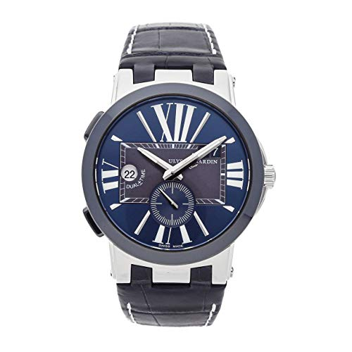 Ulysse Nardin Executive Dual Time Mechanical (Automatic) Blue Dial Mens Watch