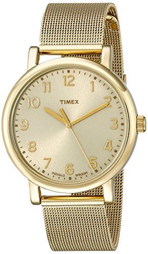 Timex Unisex Originals Analog Display Quartz Gold Watch