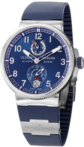 Ulysse Nardin Marine Chronometer Manufacture Automatic Watch - 1183-126-3/63