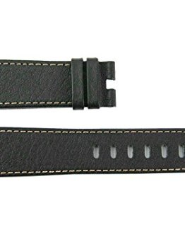 "MONTBLANC TIMEWALKER XL Brown Calf Leather Strap 5.5""/3.25""/22mm Swiss 106735#27"