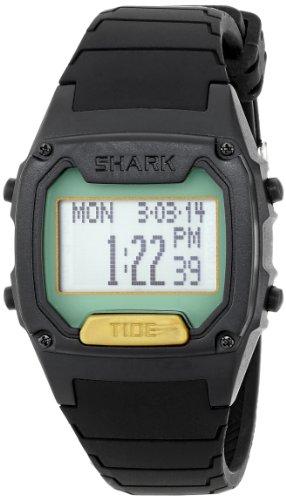 Freestyle Men's 103325 Shark Classic Tide Digital Display Japanese Quartz Black Watch