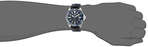 TAG Heuer Men's Aquaracr Analog Display Swiss Automatic Black Watch Additionally Identified As Mannequin # WAY211BFC6363 / WAY211B FC6363