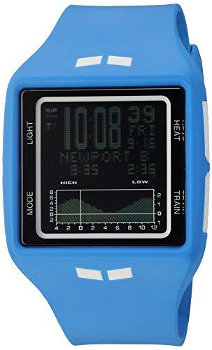 Vestal 'Brig' Quartz Plastic and Polyurethane Sport Watch, Color:Blue (Model: BRG034)