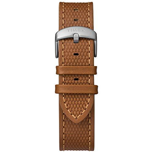 Timex Men's  Expedition Ranger Solar Tan/Blue Leather Strap Watch Timex Men's TW4B15000 Expedition Ranger Solar Tan/Blue Leather Strap Watch.