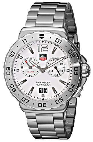 TAG Heuer Men's Formula 1 White Dial Grande Date Alarm Watch