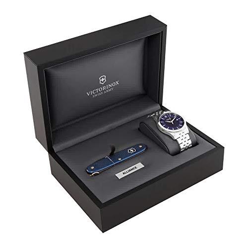 Victorinox Alliance Blue Dial Mens Watch 241802.1