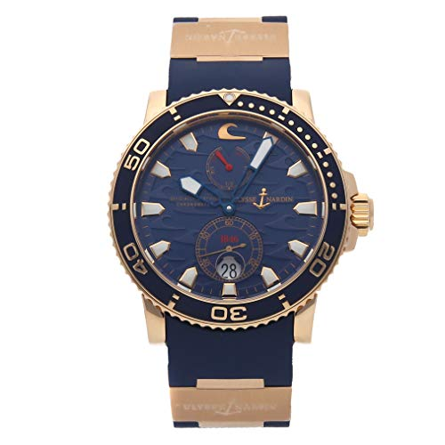 Ulysse Nardin Marine Mechanical (Automatic) Blue Dial Mens Watch 266-36LE-3A (Certified Pre-Owned)