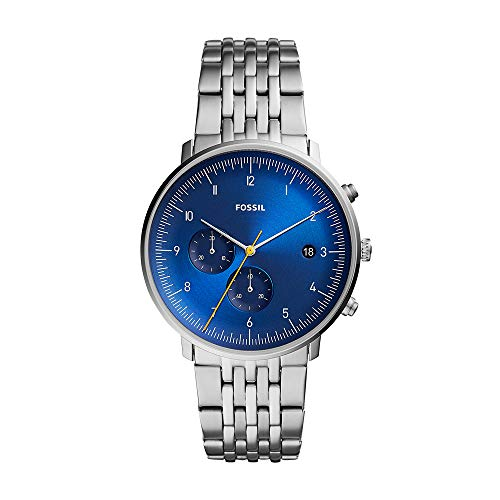 Fossil Men's Chase Timer - FS5542 Blue One Size