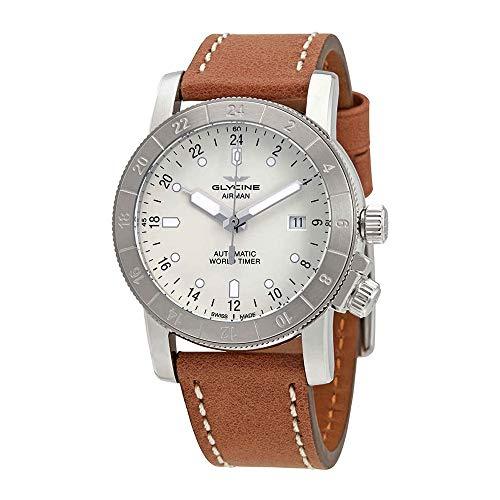 Glycine Airman Purist Automatic Silver Dial Men's Watch GL0141