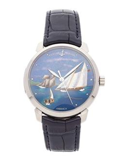 Ulysse Nardin Classico Mechanical (Automatic) Blue Dial Mens Watch 8150-111-2/AMER (Certified Pre-Owned)