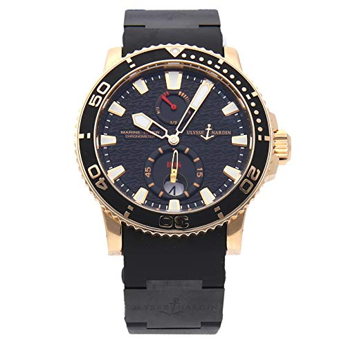 Ulysse Nardin Marine Mechanical (Automatic) Black Dial Mens Watch