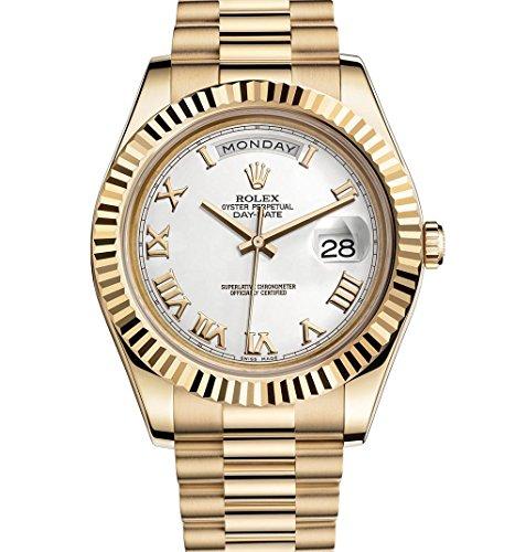 Rolex Day-Date II 2 President Yellow Gold Watch 218238