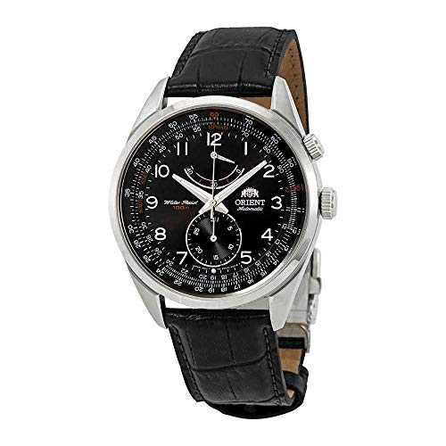 Orient Power Reserve Automatic Black Dial Mens Watch FFM03004B0