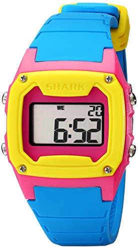 Freestyle Unisex 101810 Shark Classic Tri-Tone Digital Sport Watch