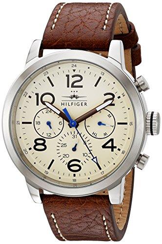 Tommy Hilfiger Men's 1791230 Analog Display Japanese Quartz Brown Watch
