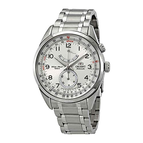 Orient Power Reserve Automatic White Dial Mens Watch FFM03002W0