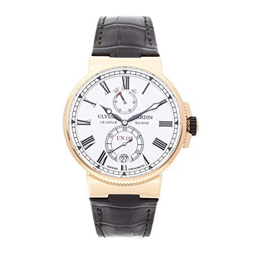 Ulysse Nardin Marine Mechanical (Automatic) White Dial Mens Watch