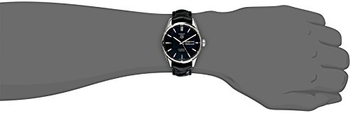 TAG Heuer Men's Analog Display Automatic Self Wind Black Watch Additionally Identified As Mannequin # WAR201A FC6266 / WAR201AFC6266