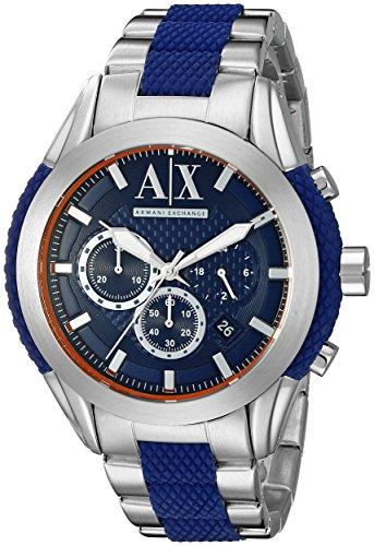 Armani Exchange Men's Silver Watch