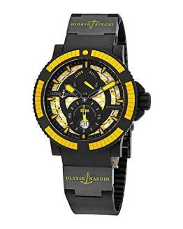 Ulysse Nardin Diver Black Sea Automatic Black Dial Men's Watch 263-92B4-3C/924