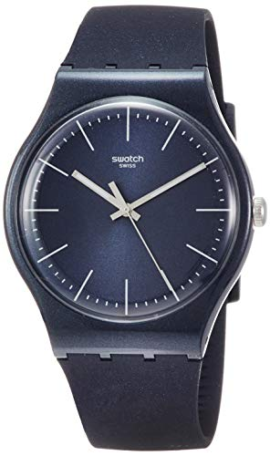 Swatch Naitbayang SUON136 Blue Silicone Quartz Fashion Watch