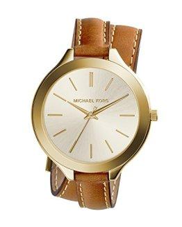 Michael Kors Women's Runway Brown Watch MK2256
