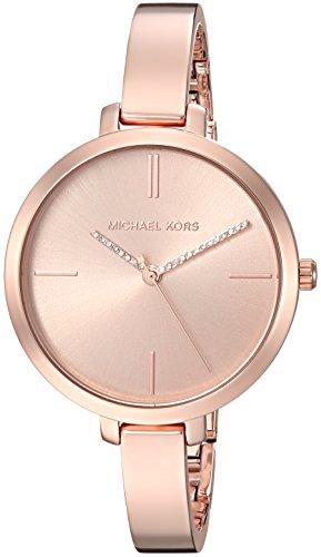 Michael Kors Women's Jaryn Quartz Watch with Stainless-Steel Strap, Rose Gold, 8 (Model: MK3735)