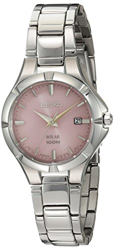 Seiko Women's Japanese Quartz Stainless Steel Watch, Color:Silver-Toned (Model: SUT315)