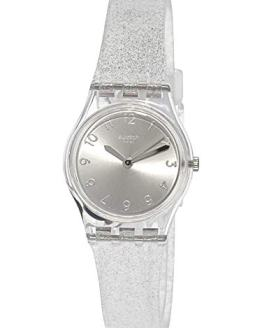 Swatch Originals Quartz Movement Silver Dial Ladies Watch LK343E