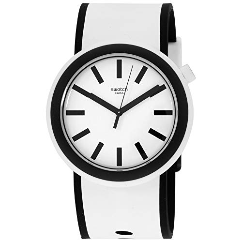 Swatch New POP Quartz Movement White Dial Unisex Watch PNW100