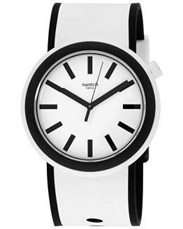 Swatch New POP Quartz Movement White Dial Unisex Watch PNW100