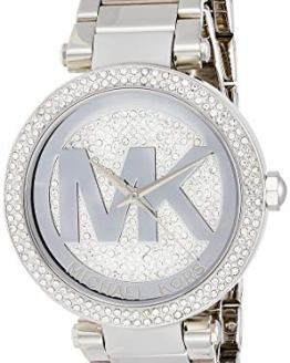Michael Kors Women's Parker Silver-Tone Watch MK5925