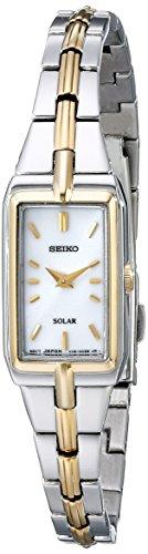 Seiko Women's SUP272 Two-Tone Watch