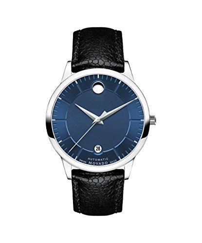 Movado Automatic Movement Blue Dial Men's Watch