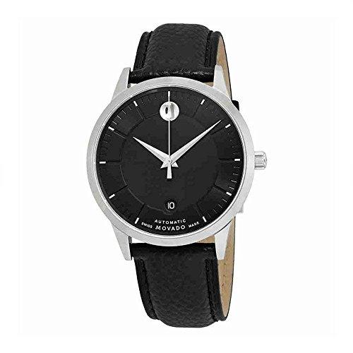 Movado 1881 Automatic Movement Black Dial Men's Watch 0607019