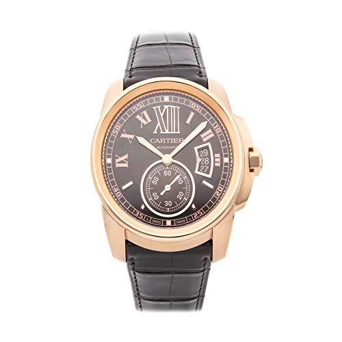 Cartier Calibre de Cartier Mechanical (Automatic) Brown Dial Mens Watch