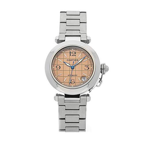 Cartier Pasha Mechanical (Automatic) Salmon/Pink Dial Womens Watch