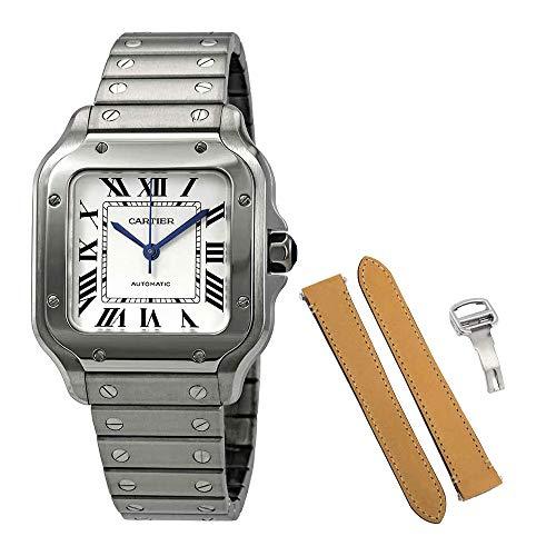 Cartier Santos De Cartier Medium Automatic Mens Watch