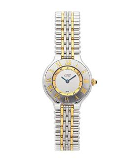 Cartier Must de Cartier 21 Quartz (Battery) Silver Dial Womens Watch