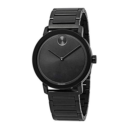 Movado Bold Black Dial Men's Watch