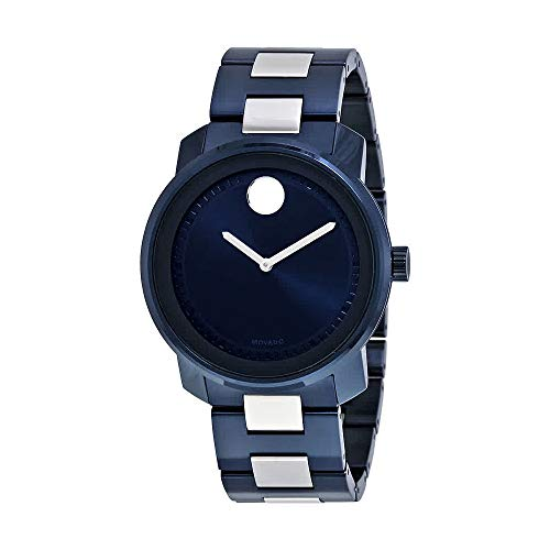 Movado Bold Blue Dial Mens Watch 3600422