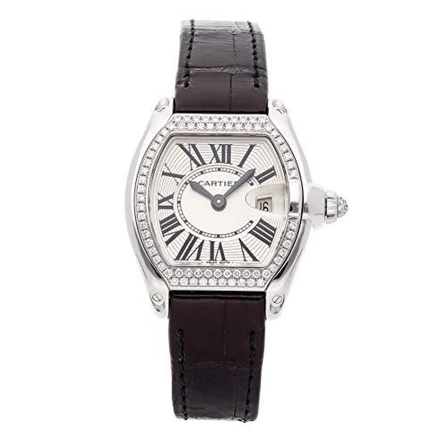 Cartier Roadster Quartz (Battery) Silver Dial Womens Watch