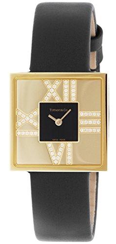Tiffany & Co. Wristwatch Atlascocktailsquarelady Diamond Case