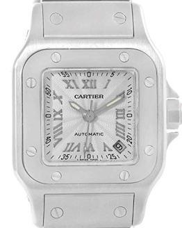 Cartier Santos Galbee Automatic-self-Wind Female Watch
