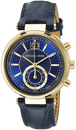 Michael Kors Women's Sawyer Blue Watch