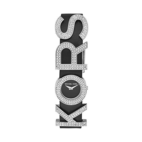 Michael Kors Women's Kors Logo Stainless Steel Quartz Watch