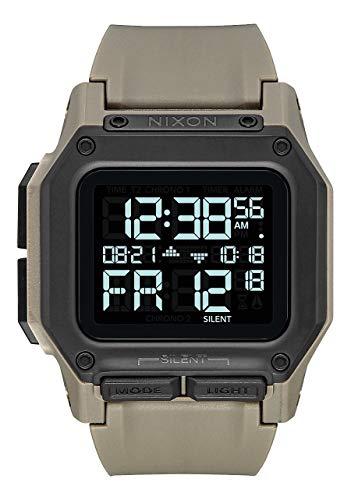 NIXON Regulus - All Sand - 100m Water Resistant Men's Digital Sport Watch