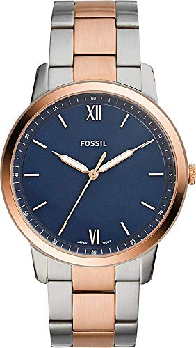Fossil The Minimalist Rose Gold/Silver One Size