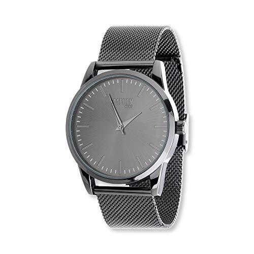 Steve Madden Men's Stainless Steel Japanese-Quartz Watch with Alloy Strap